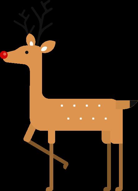 Xmas CryptoFlowers Deer Right